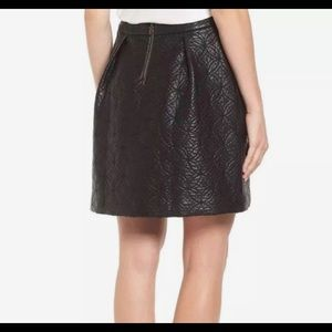Halogen Faux Leather Skirt
